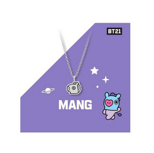 BT21 Silver Necklace