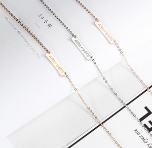 ARMY BTS Necklace