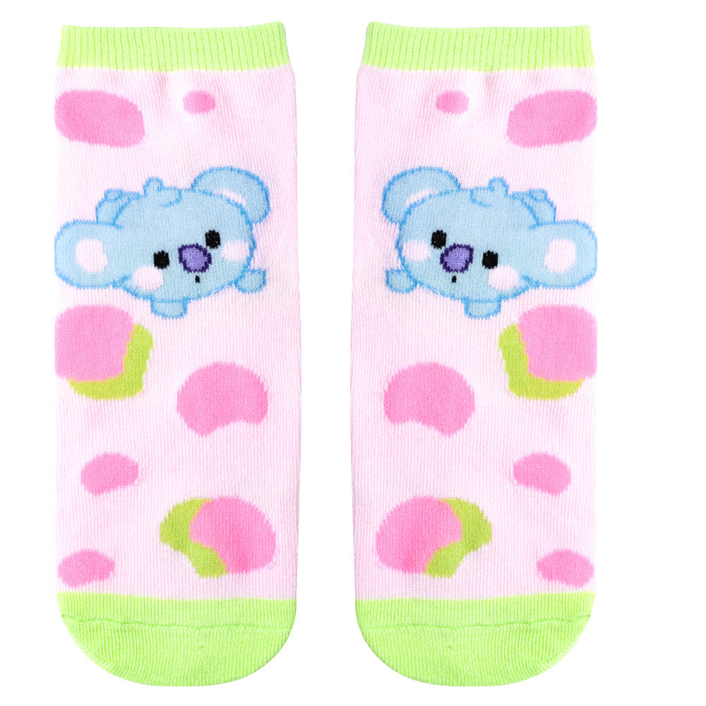 BT21 Short Tube Socks