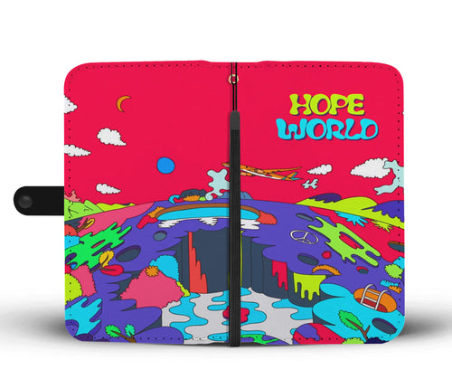 BTS Hope World Wallet Phone Case