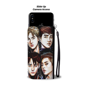 EXO The War Members Wallet Phone Case