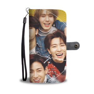 Got7 Group Eyes On You Wallet Phone Case
