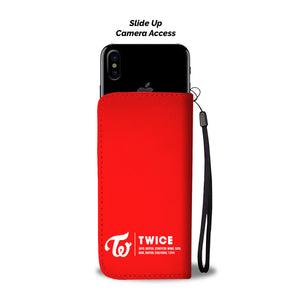 Twice Likey Wallet Phone Case
