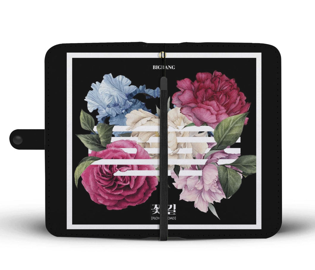 BIGBANG Flower Road Wallet Phone Case