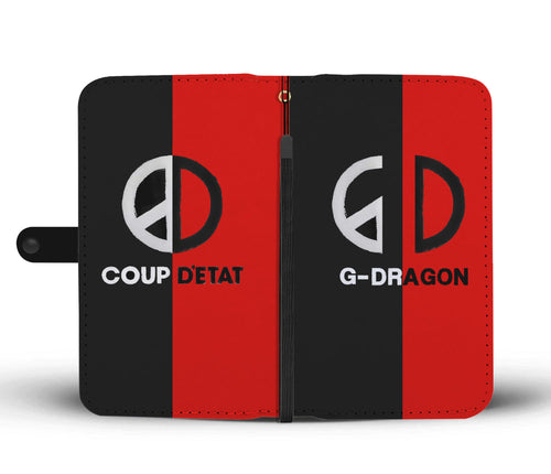 BigBang G-Dragon Coup D'etat B/R Wallet Phone Case
