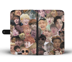 BTS Meme Wallet Phone Case