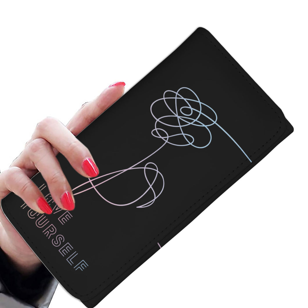 BTS Love Yourself Women's Wallet