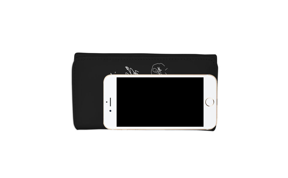 BTS Signature Women's Wallet (Black)