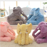 (TWIN PACK) Fluffy Elephant Plush + Bonus Gift