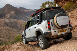 New Landrover Defender to come with Goodyear Tyres