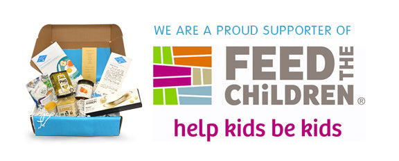 Proud supporters of Feed the Children