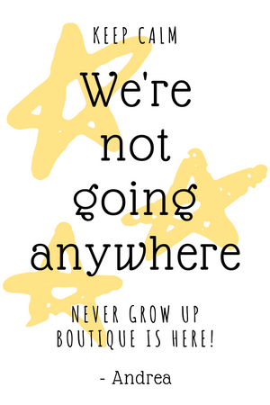 What's Next for Never Grow Up Boutique?