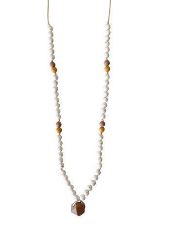 The Sheppard - Moonstone Teething Necklace