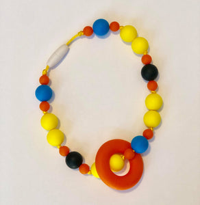 CHEWLERY TEETHER Accessory - Orange/Yellow