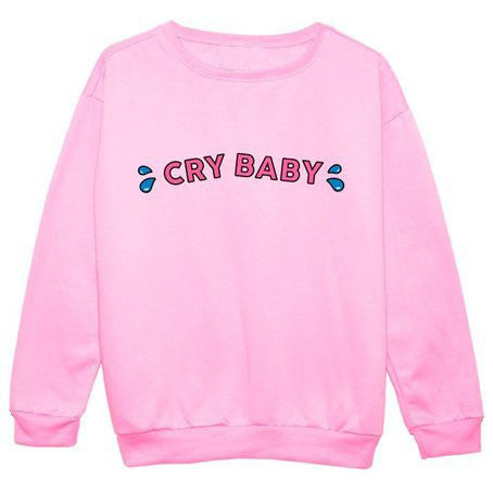Cry Baby Sweater