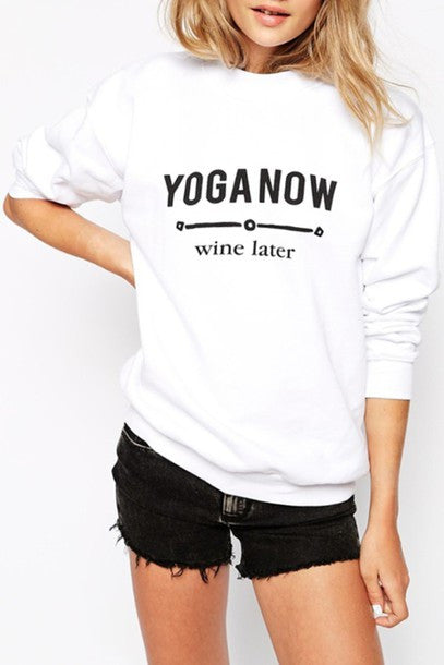 Yoga Now Sweater