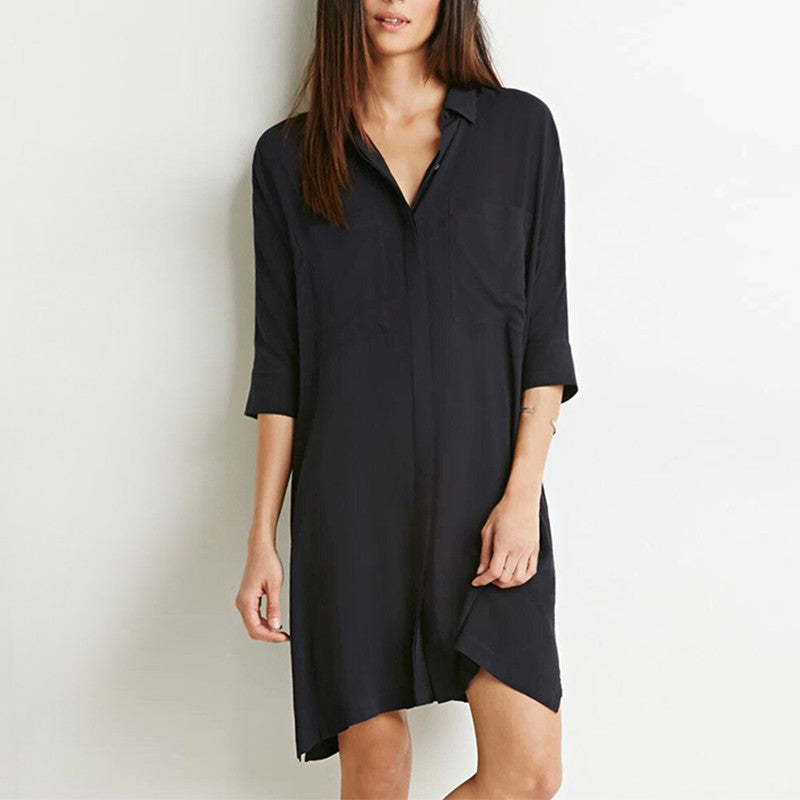 Tia Shirt Dress