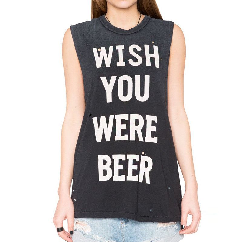 Wish Your Were Beer Tee