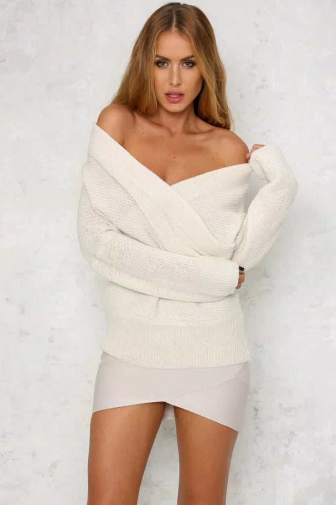 Rhonny Off The Shoulder Sweater
