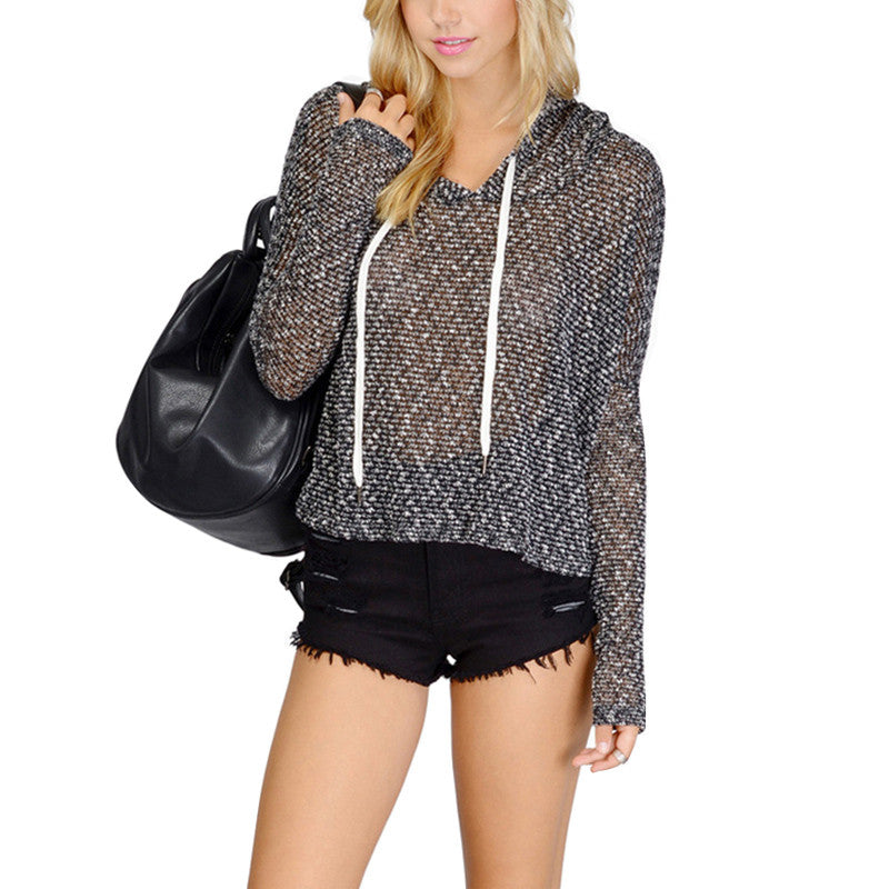 Sheer Up Pullover