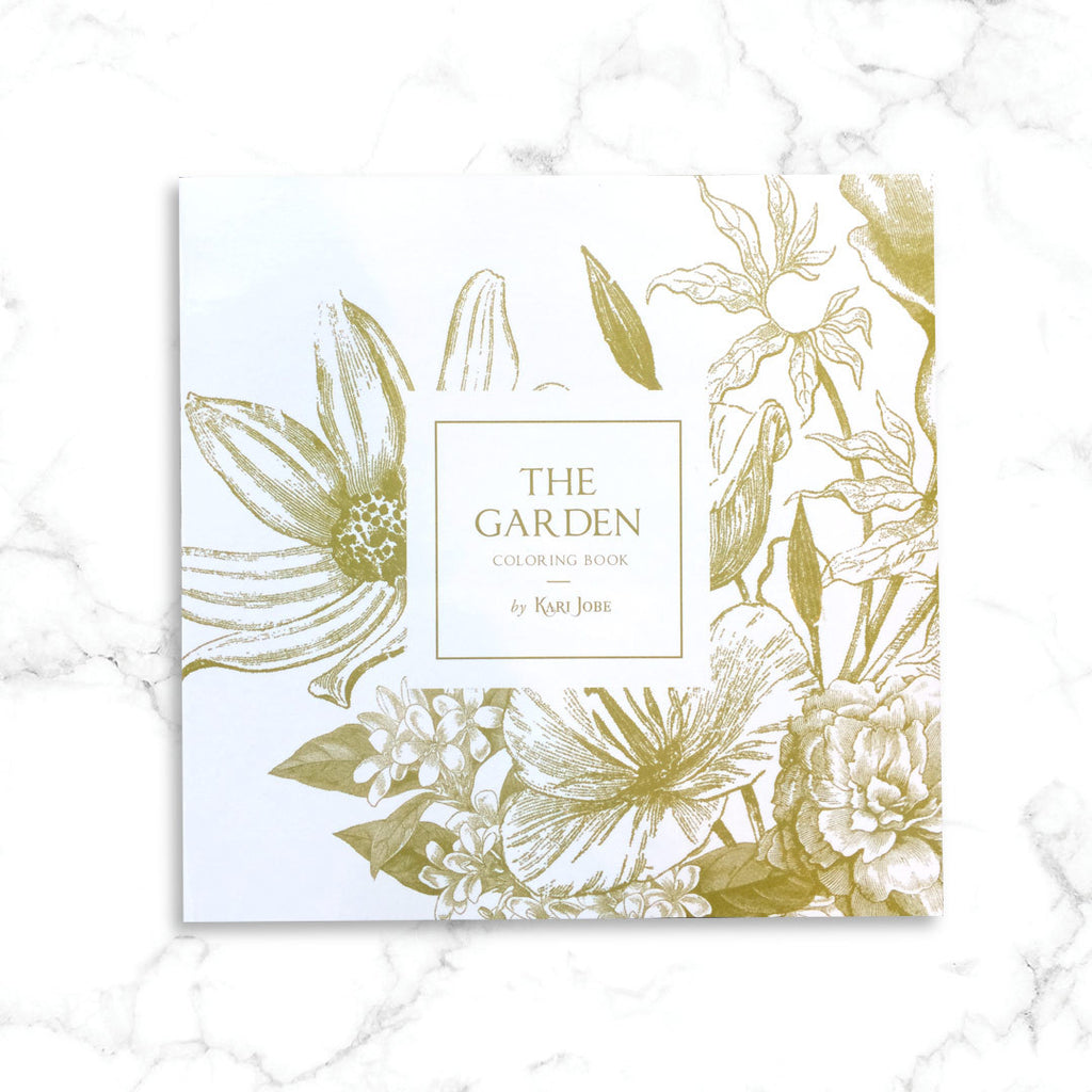 The Garden Coloring Book