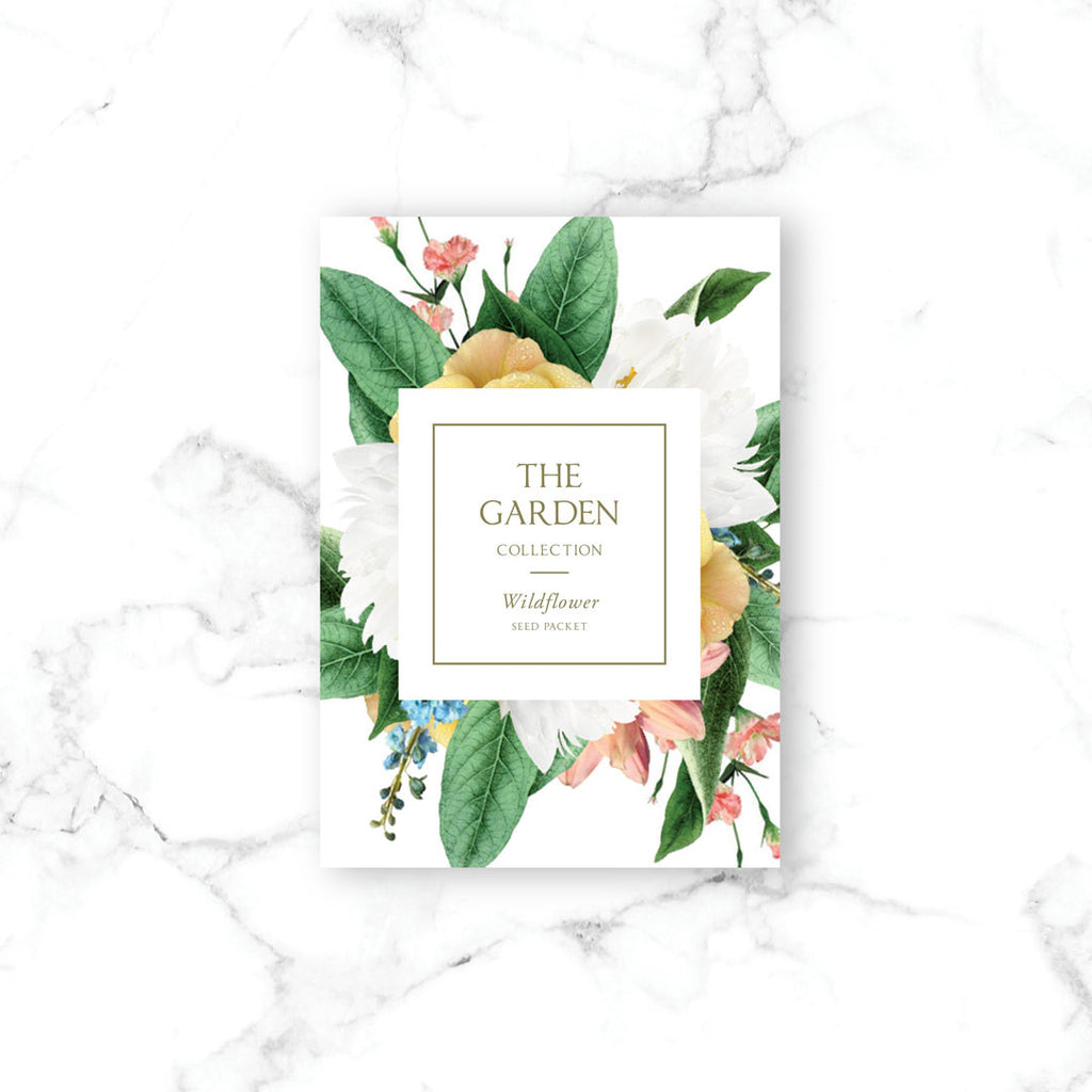 The Garden Wildflower Seed Packs