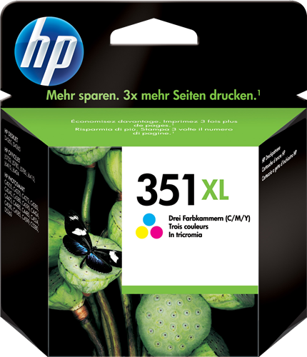orginal blekhylki HP® 351 XL color C/Y/M