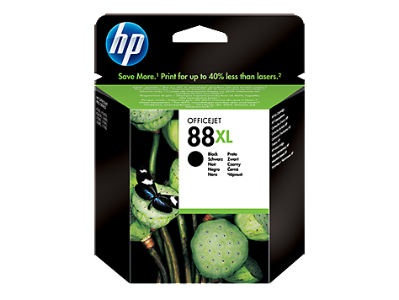 Orginal blekhylki HP® 88 XL Black,