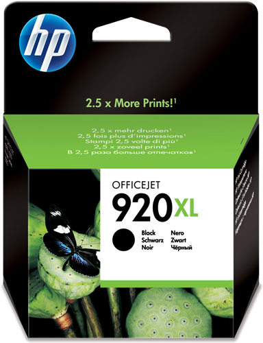 orginal blekhylki í HP® 920XL Black