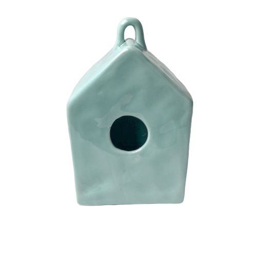 Mint Blank Birdhouse By Kathy Diep