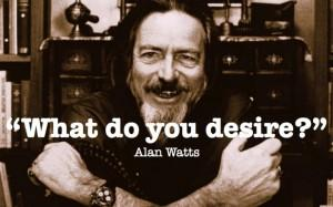 Teach ESL and Spanish with Sube Kits - What Do You Desire? Alan Watts