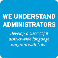 Sube Understands Administrators - Develop a successful district-wide language program