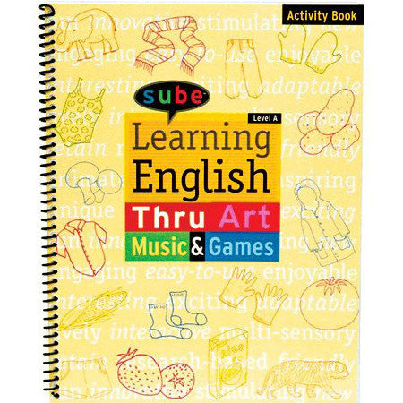Sube English Curriculum Beginner Activity Book for Elementary Grade Levels