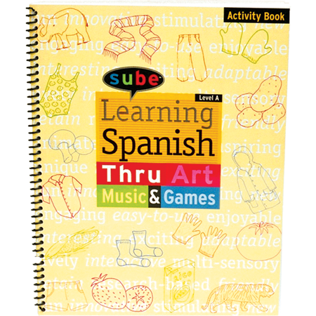 Spanish Curriculum Beginner Activity Book for Elementary Grade Levels Reorder