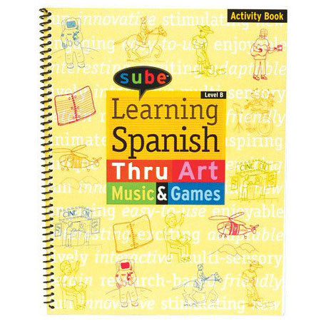 Spanish Curriculum Intermediate Acivity Book for Elementary Grade Levels Reorder
