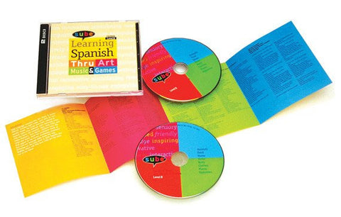Spanish Curriculum Intermediate Music Video DVD CD for Elementary Grade Levels
