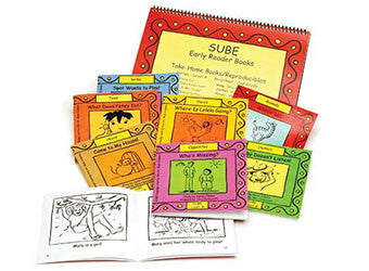 English Curriculum Beginner Early Reader Book Set for Elementary Grade Levels