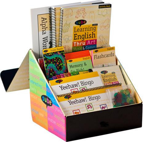 English Curriculum Beginner ESL Kit Elementary Grade Levels