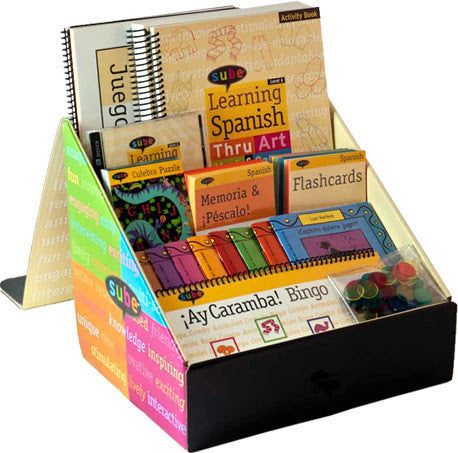 Spanish Teach Curriculum Beginner Kit for Elementary Grade Levels
