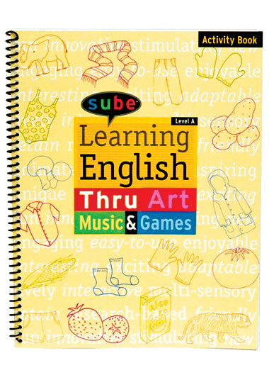 English elementary student activity book