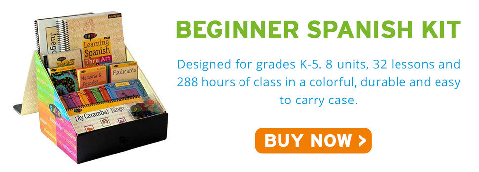 Beginner Spanish Curriculum Kit Sube