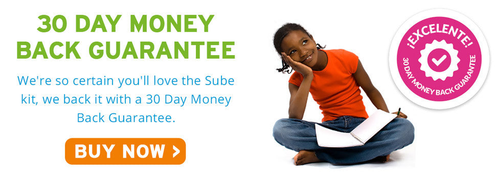 Sube's 30 Day Money Back Guarantee