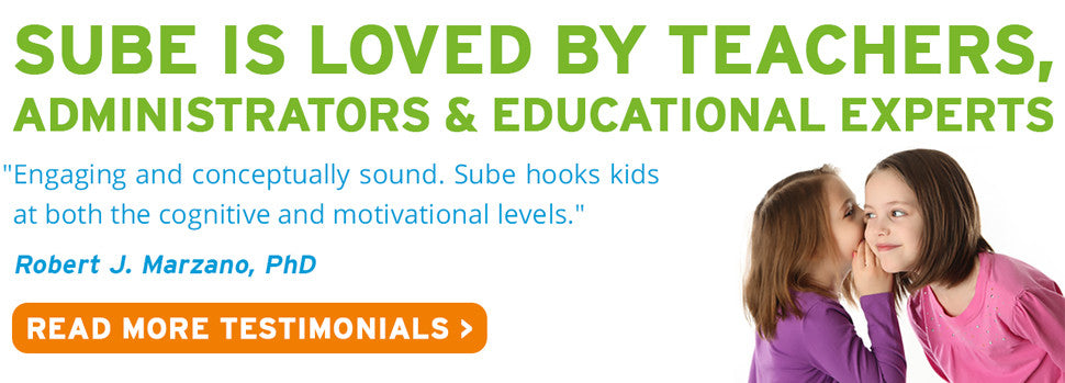 Sube is loved by teacher, administrators, and educational professionals the world over.