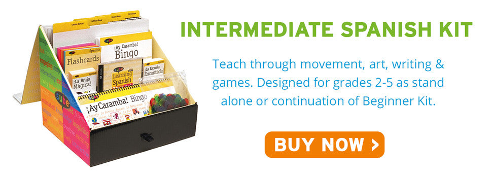 Intermediate Spanish Curriculum Kit Sube