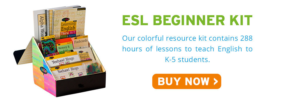 Beginner ESL English Kit Sube