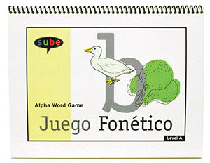 English beginner curriculum word game alpha