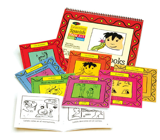 ESL Spanish elementary curriculum Beginner early reader book set Sube