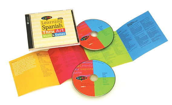 Learn Spanish ESL with music DVD CD Sube