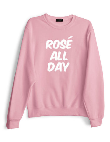 Rose All Day Pullover