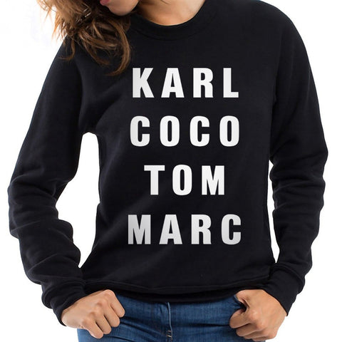 Karl Coco Tom Marc Pullover